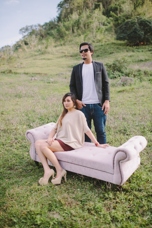 Cuckoo Cloud Concepts Owen Blance Engagement Grunge Inspired Swimming Pool Quirky Outdoor Cebu Wedding Stylist-43