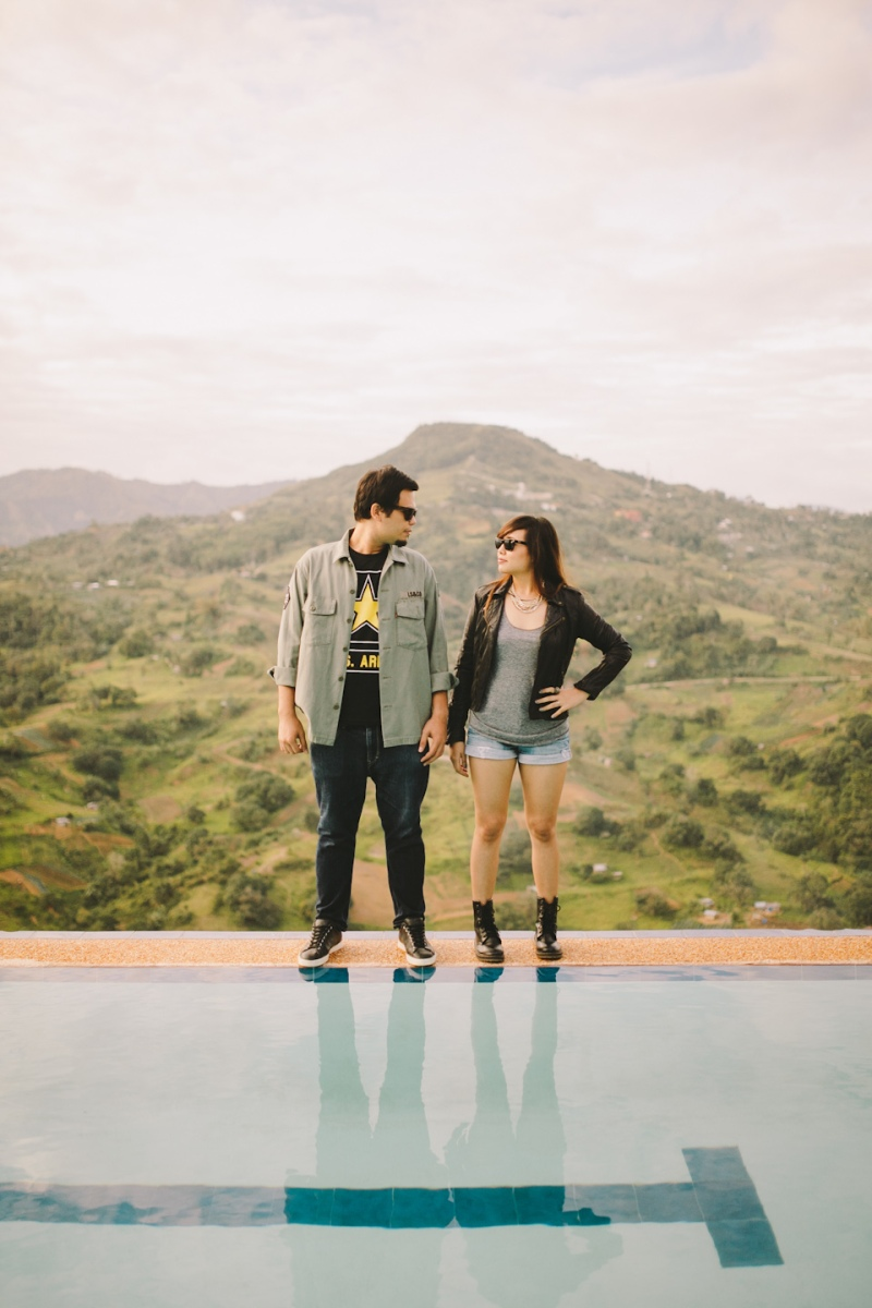 Cuckoo Cloud Concepts Owen Blance Engagement Grunge Inspired Swimming Pool Quirky Outdoor Cebu Wedding Stylist-45