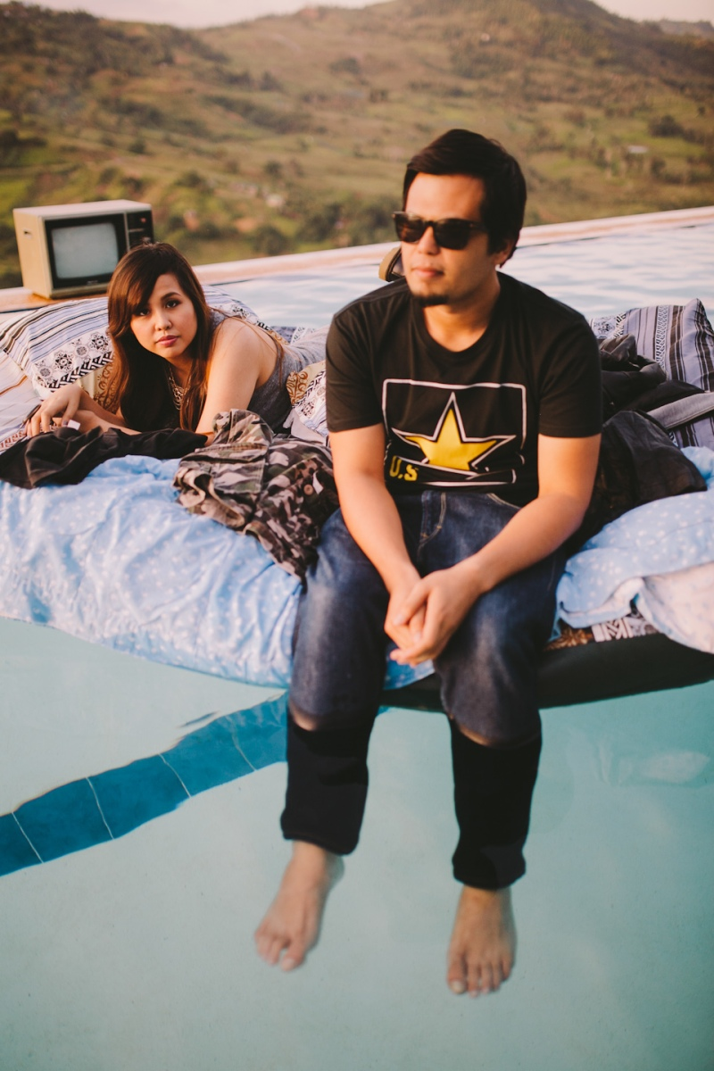 Cuckoo Cloud Concepts Owen Blance Engagement Grunge Inspired Swimming Pool Quirky Outdoor Cebu Wedding Stylist-46