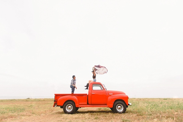 Cuckoo Cloud Concepts Franz Sherry Engagement Session Red Truck Bohemian Road Trip Cebu Stylist-11