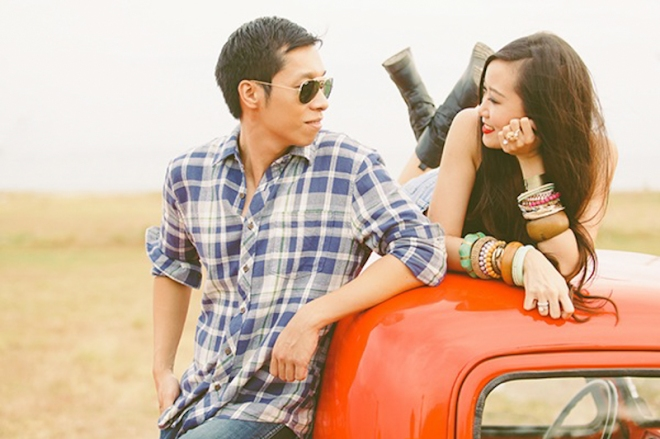 Cuckoo Cloud Concepts Franz Sherry Engagement Session Red Truck Bohemian Road Trip Cebu Stylist-12