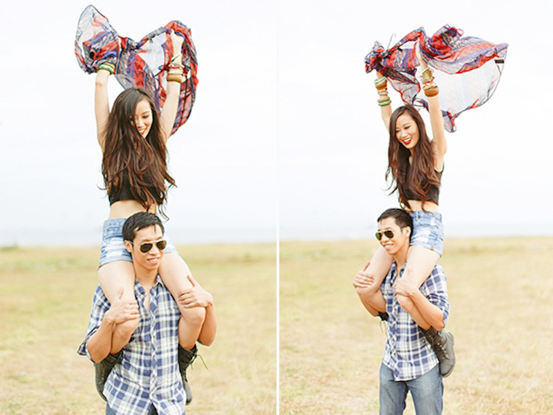 Cuckoo Cloud Concepts Franz Sherry Engagement Session Red Truck Bohemian Road Trip Cebu Stylist-14