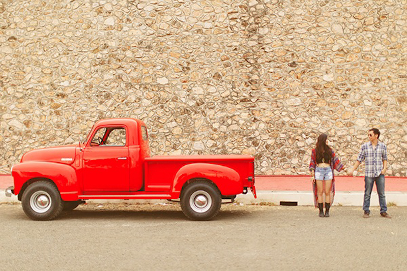 Cuckoo Cloud Concepts Franz Sherry Engagement Session Red Truck Bohemian Road Trip Cebu Stylist-17