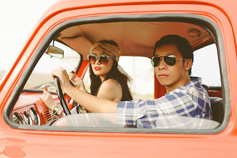 Cuckoo Cloud Concepts Franz Sherry Engagement Session Red Truck Bohemian Road Trip Cebu Stylist-4
