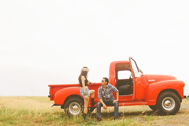 Cuckoo Cloud Concepts Franz Sherry Engagement Session Red Truck Bohemian Road Trip Cebu Stylist-8