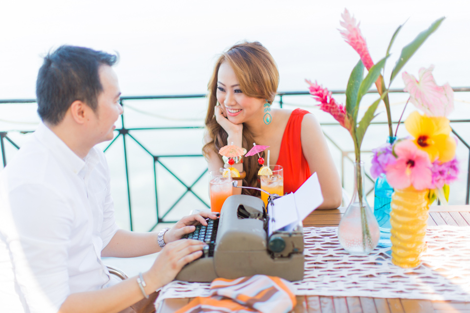 Cuckoo Cloud Concepts Jason Madel Engagement Tropical Santorini Inspired Catmon Cebu Stylist -14