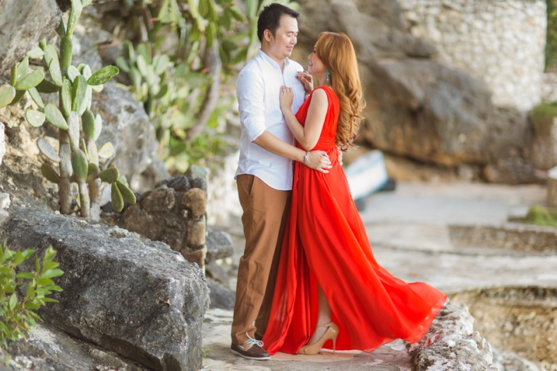 Cuckoo Cloud Concepts Jason Madel Engagement Tropical Santorini Inspired Catmon Cebu Stylist -19