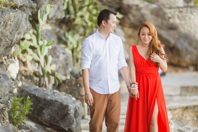 Cuckoo Cloud Concepts Jason Madel Engagement Tropical Santorini Inspired Catmon Cebu Stylist -20