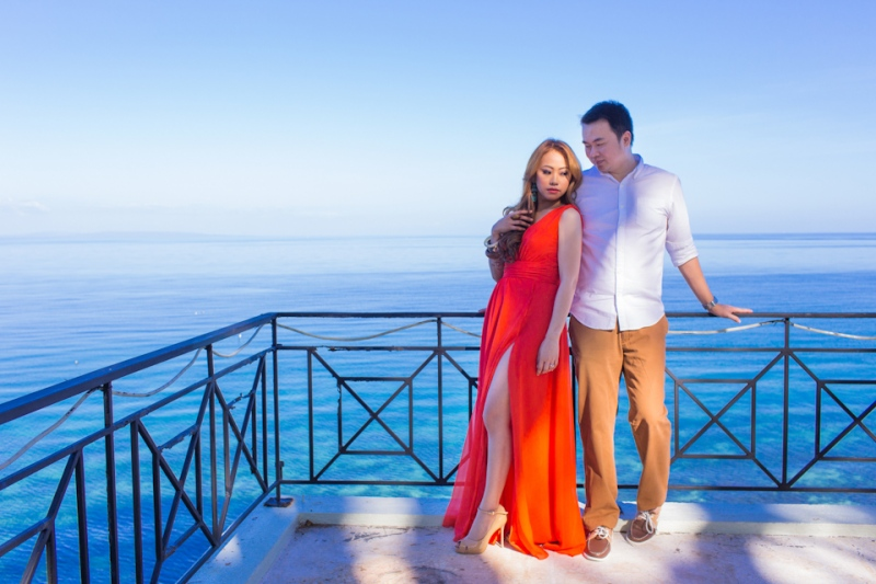 Cuckoo Cloud Concepts Jason Madel Engagement Tropical Santorini Inspired Catmon Cebu Stylist -22