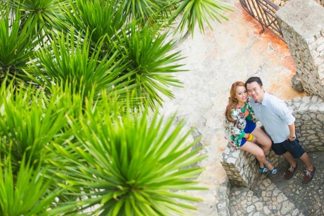 Cuckoo Cloud Concepts Jason Madel Engagement Tropical Santorini Inspired Catmon Cebu Stylist -29