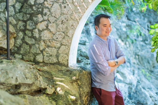 Cuckoo Cloud Concepts Jason Madel Engagement Tropical Santorini Inspired Catmon Cebu Stylist -3