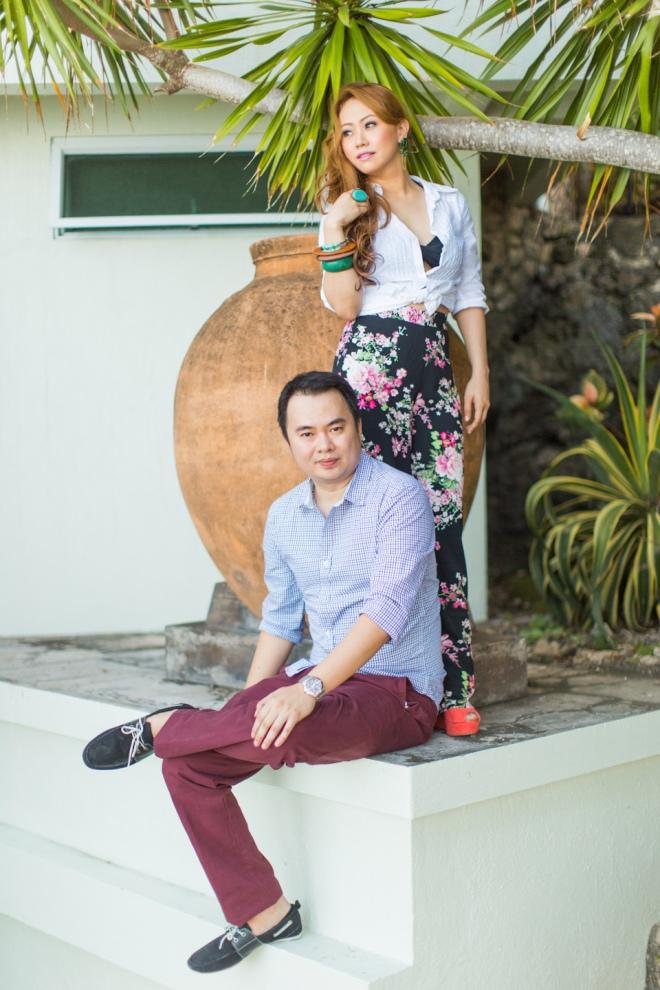 Cuckoo Cloud Concepts Jason Madel Engagement Tropical Santorini Inspired Catmon Cebu Stylist -35