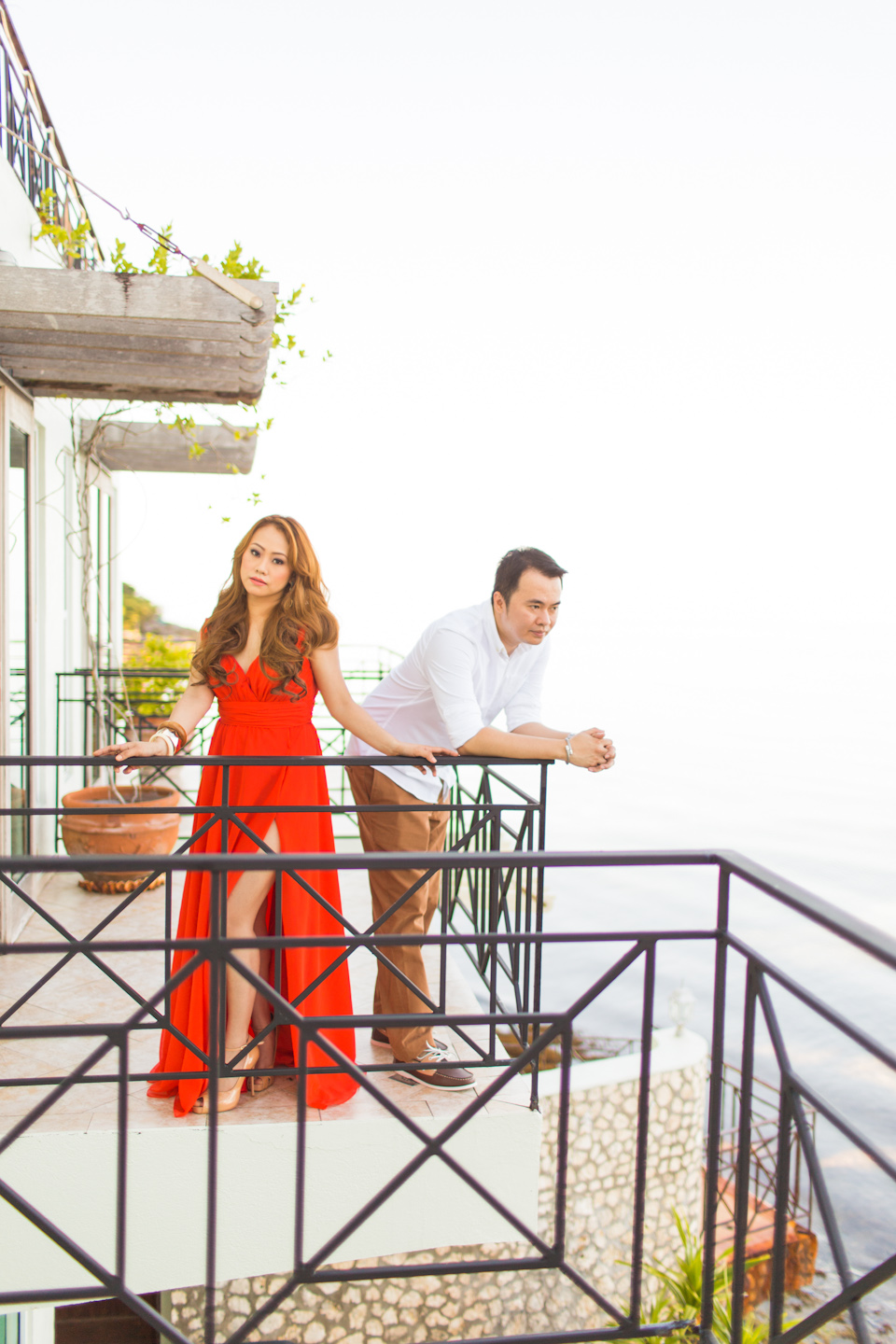 Cuckoo Cloud Concepts Jason Madel Engagement Tropical Santorini Inspired Catmon Cebu Stylist -36