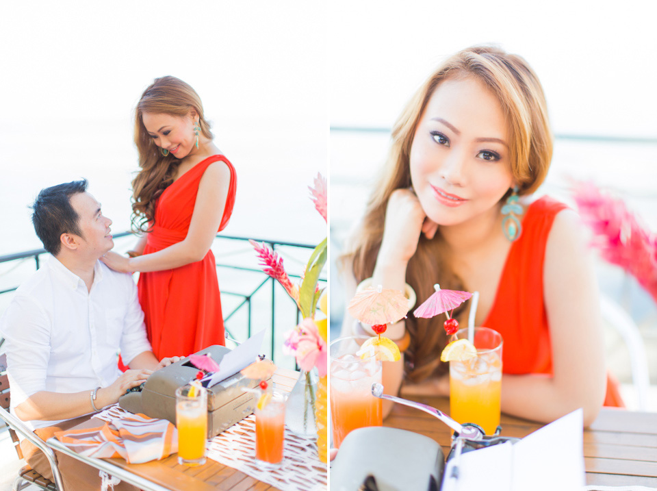 Cuckoo Cloud Concepts Jason Madel Engagement Tropical Santorini Inspired Catmon Cebu Stylist -38