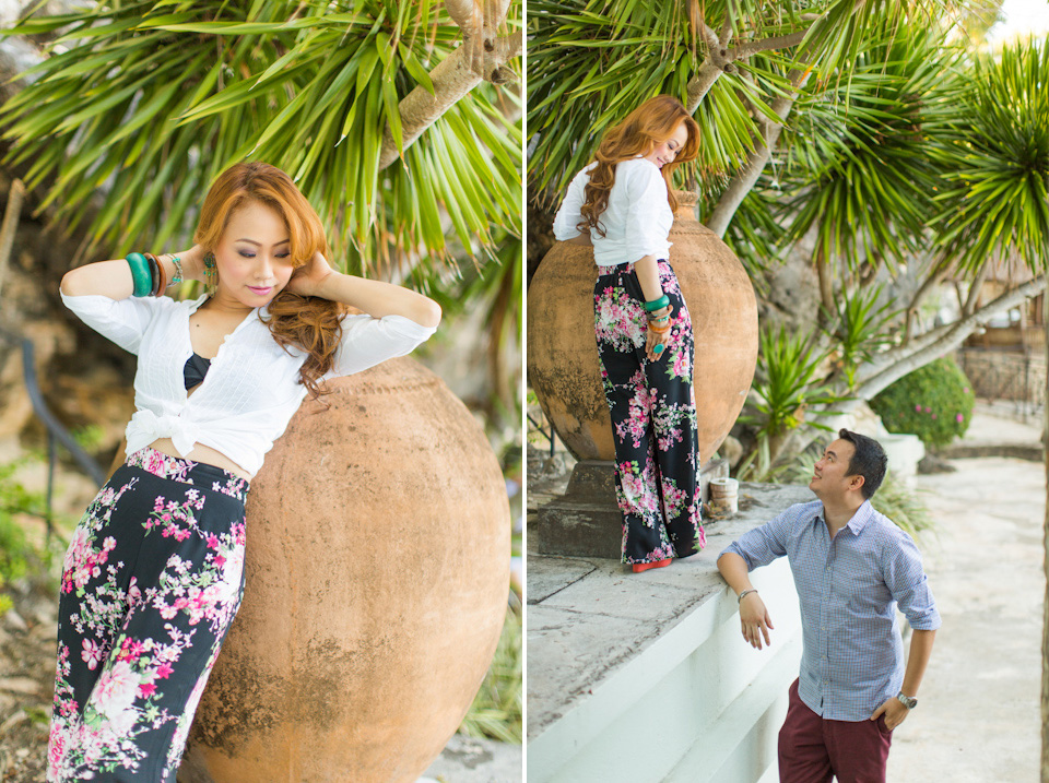 Cuckoo Cloud Concepts Jason Madel Engagement Tropical Santorini Inspired Catmon Cebu Stylist -42