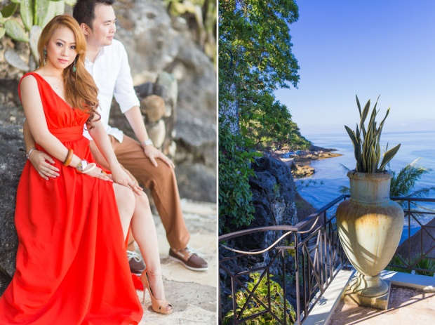 Cuckoo Cloud Concepts Jason Madel Engagement Tropical Santorini Inspired Catmon Cebu Stylist -43