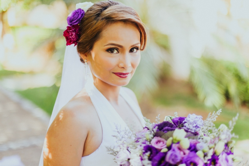 Cuckoo Cloud Concepts Petter Leah Modern Filipiniana Wedding Blue Violet Beach Crimson Resort Cebu Wedding Stylist-18