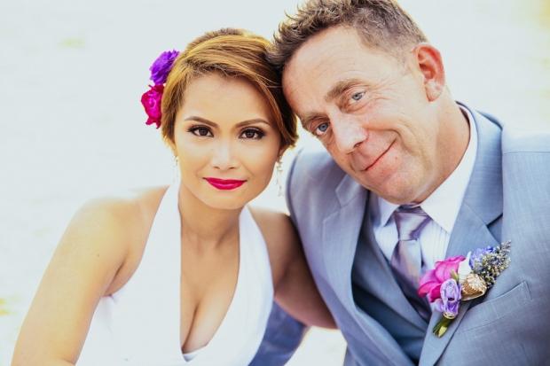 Cuckoo Cloud Concepts Petter Leah Modern Filipiniana Wedding Blue Violet Beach Crimson Resort Cebu Wedding Stylist-41