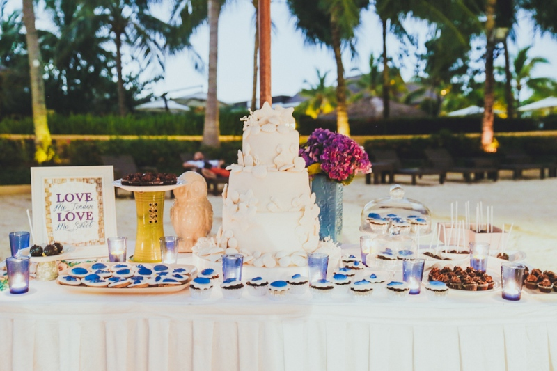Cuckoo Cloud Concepts Petter Leah Modern Filipiniana Wedding Blue Violet Beach Crimson Resort Cebu Wedding Stylist-42