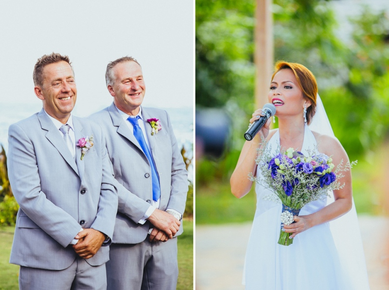 Cuckoo Cloud Concepts Petter Leah Modern Filipiniana Wedding Blue Violet Beach Crimson Resort Cebu Wedding Stylist-56