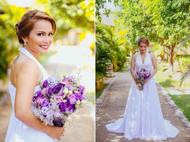 Cuckoo Cloud Concepts Petter Leah Modern Filipiniana Wedding Blue Violet Beach Crimson Resort Cebu Wedding Stylist-57