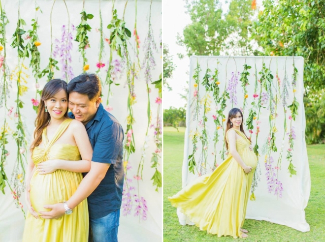 Cuckoo Cloud Concepts Ivy Maternity Session Beach Florals Shangrila-24