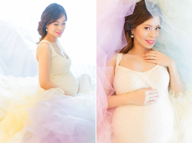 Cuckoo Cloud Concepts Ivy Maternity Session Beach Florals Shangrila-26