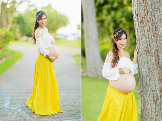 Cuckoo Cloud Concepts Ivy Maternity Session Beach Florals Shangrila-27