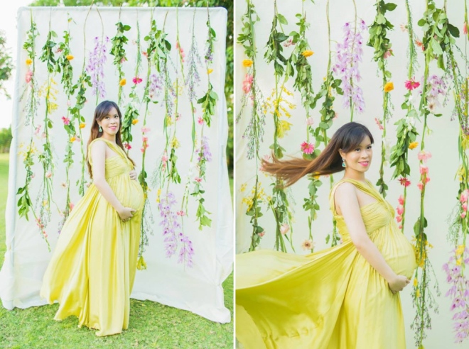 Cuckoo Cloud Concepts Ivy Maternity Session Beach Florals Shangrila-28