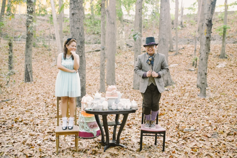 Cuckoo Cloud Concepts Paul and Julie Engagement Session Alice in Wonderland Red Queen Cebu Stylist-14