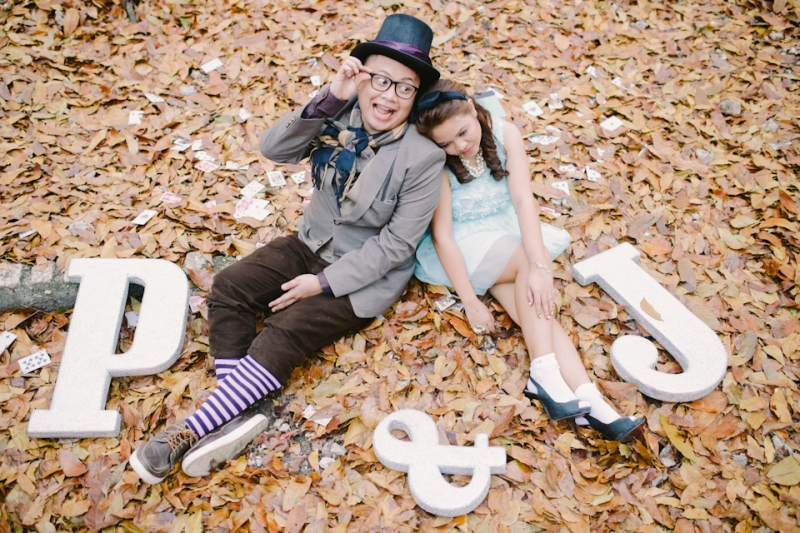 Cuckoo Cloud Concepts Paul and Julie Engagement Session Alice in Wonderland Red Queen Cebu Stylist-26