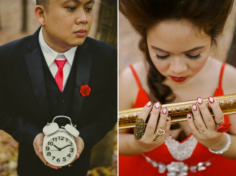 Cuckoo Cloud Concepts Paul and Julie Engagement Session Alice in Wonderland Red Queen Cebu Stylist-34