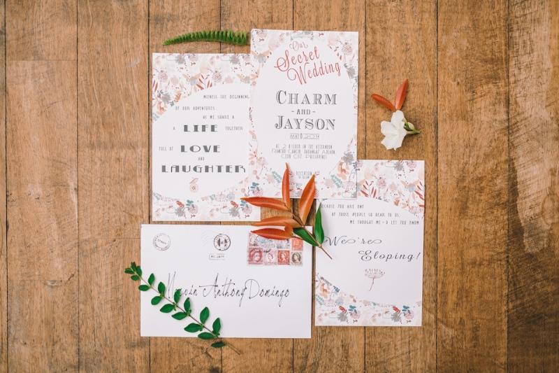 Cuckoo Cloud Concepts Jayson and Charm Secret Wedding Rancho Cancio Cebu Wedding Stylist Bohemian Elegance Event Styling Lush Bouquet Intimate -1