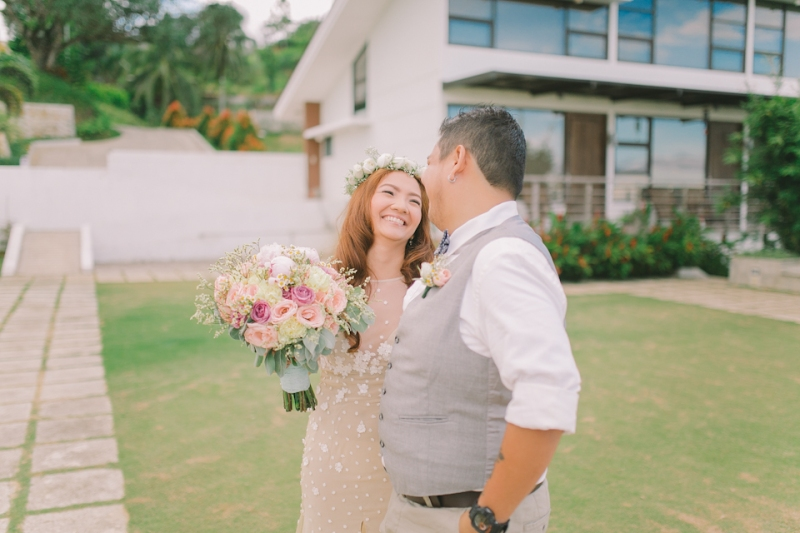 Cuckoo Cloud Concepts Jayson and Charm Secret Wedding Rancho Cancio Cebu Wedding Stylist Bohemian Elegance Event Styling Lush Bouquet Intimate -10