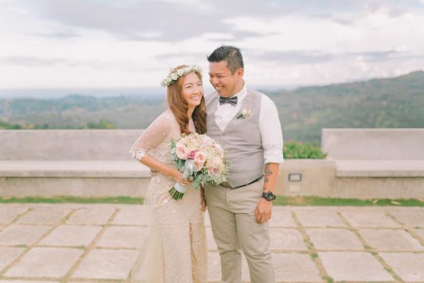 Cuckoo Cloud Concepts Jayson and Charm Secret Wedding Rancho Cancio Cebu Wedding Stylist Bohemian Elegance Event Styling Lush Bouquet Intimate -12