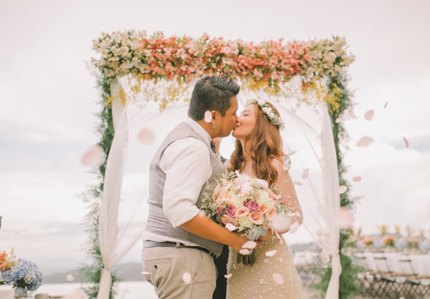 Cuckoo Cloud Concepts Jayson and Charm Secret Wedding Rancho Cancio Cebu Wedding Stylist Bohemian Elegance Event Styling Lush Bouquet Intimate -21