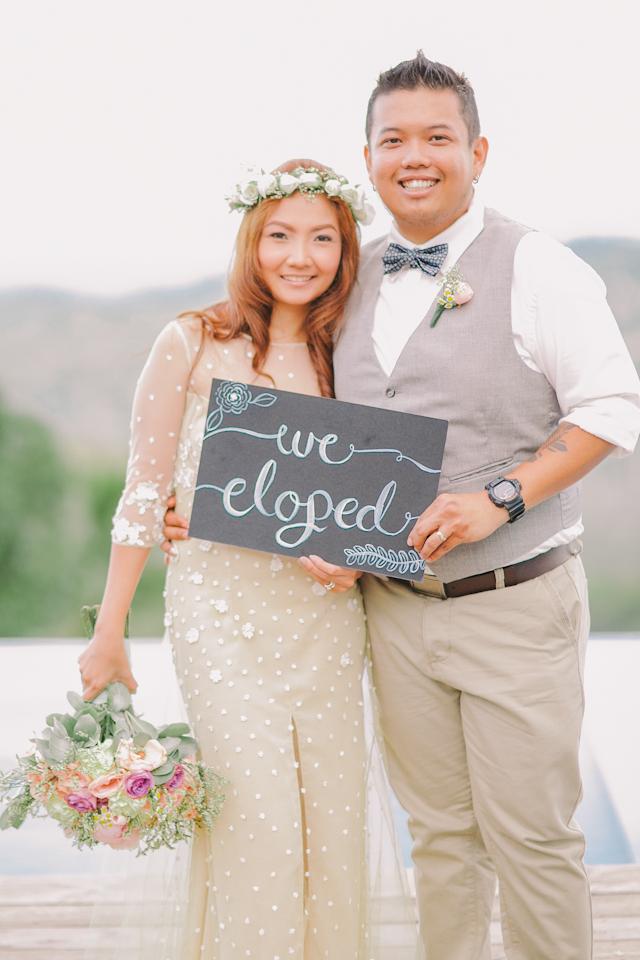Cuckoo Cloud Concepts Jayson and Charm Secret Wedding Rancho Cancio Cebu Wedding Stylist Bohemian Elegance Event Styling Lush Bouquet Intimate -23