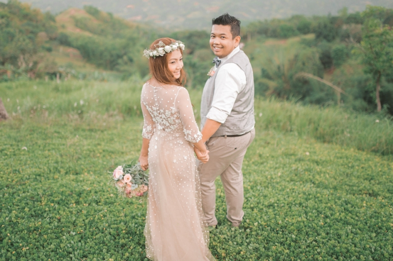 Cuckoo Cloud Concepts Jayson and Charm Secret Wedding Rancho Cancio Cebu Wedding Stylist Bohemian Elegance Event Styling Lush Bouquet Intimate -26