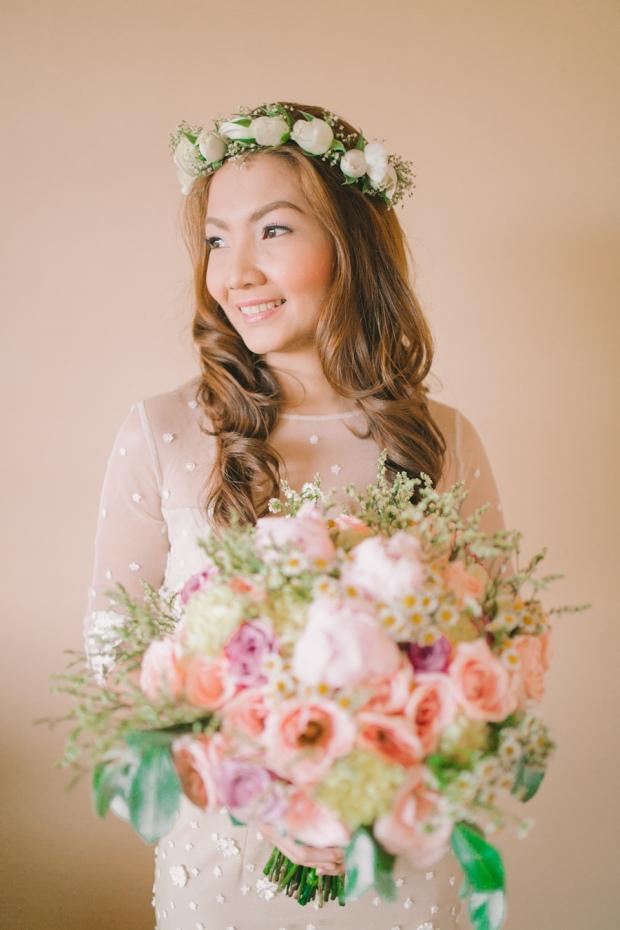 Cuckoo Cloud Concepts Jayson and Charm Secret Wedding Rancho Cancio Cebu Wedding Stylist Bohemian Elegance Event Styling Lush Bouquet Intimate -28