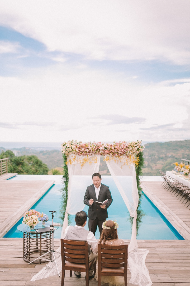 Cuckoo Cloud Concepts Jayson and Charm Secret Wedding Rancho Cancio Cebu Wedding Stylist Bohemian Elegance Event Styling Lush Bouquet Intimate -31