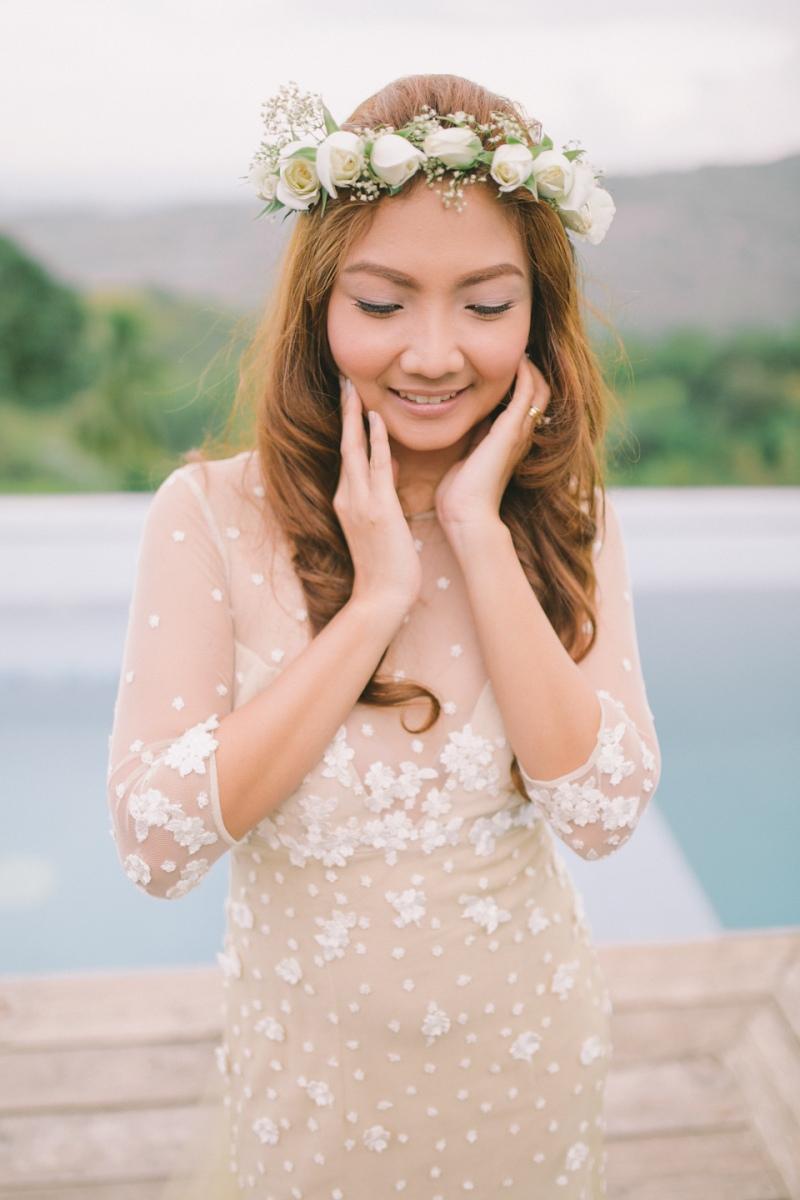 Cuckoo Cloud Concepts Jayson and Charm Secret Wedding Rancho Cancio Cebu Wedding Stylist Bohemian Elegance Event Styling Lush Bouquet Intimate -33