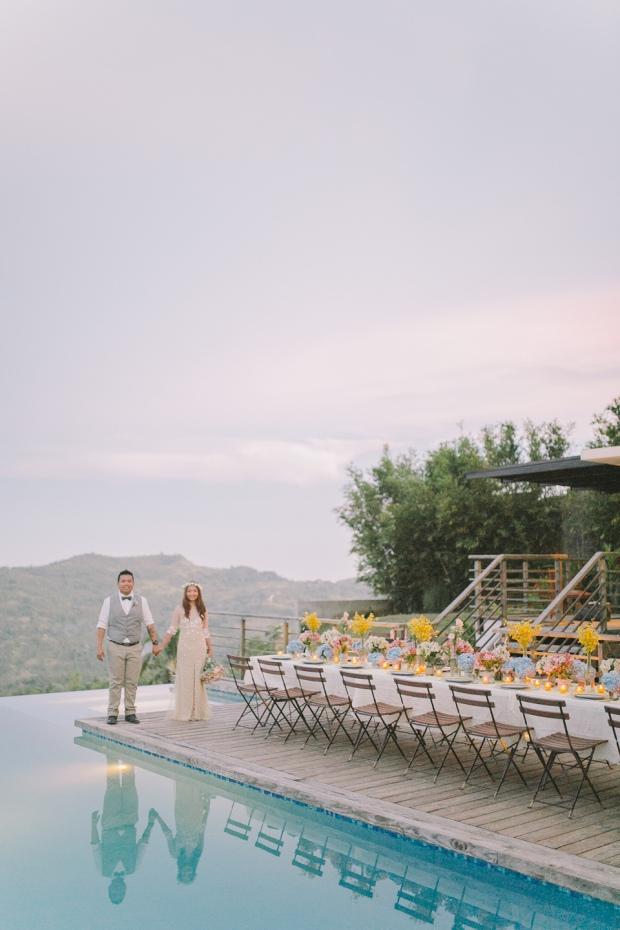 Cuckoo Cloud Concepts Jayson and Charm Secret Wedding Rancho Cancio Cebu Wedding Stylist Bohemian Elegance Event Styling Lush Bouquet Intimate -35