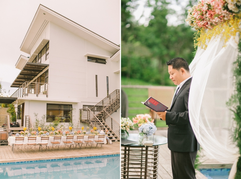 Cuckoo Cloud Concepts Jayson and Charm Secret Wedding Rancho Cancio Cebu Wedding Stylist Bohemian Elegance Event Styling Lush Bouquet Intimate -37