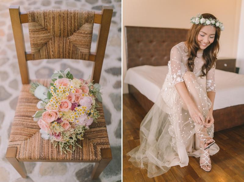 Cuckoo Cloud Concepts Jayson and Charm Secret Wedding Rancho Cancio Cebu Wedding Stylist Bohemian Elegance Event Styling Lush Bouquet Intimate -38