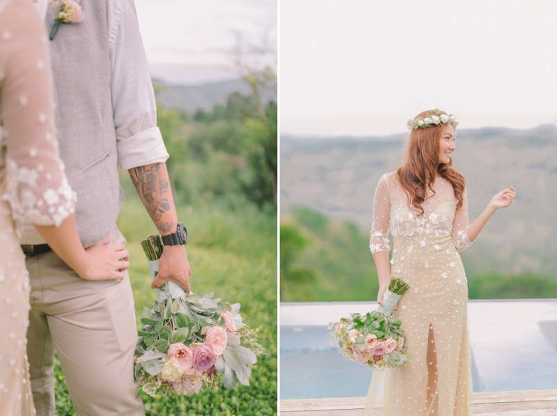 Cuckoo Cloud Concepts Jayson and Charm Secret Wedding Rancho Cancio Cebu Wedding Stylist Bohemian Elegance Event Styling Lush Bouquet Intimate -42