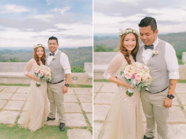 Cuckoo Cloud Concepts Jayson and Charm Secret Wedding Rancho Cancio Cebu Wedding Stylist Bohemian Elegance Event Styling Lush Bouquet Intimate -43