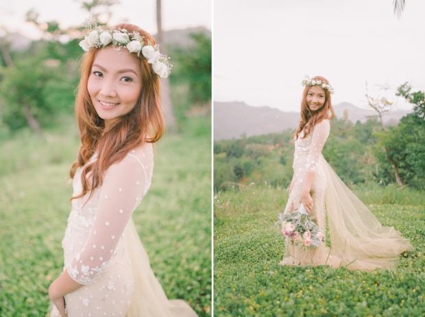 Cuckoo Cloud Concepts Jayson and Charm Secret Wedding Rancho Cancio Cebu Wedding Stylist Bohemian Elegance Event Styling Lush Bouquet Intimate -44