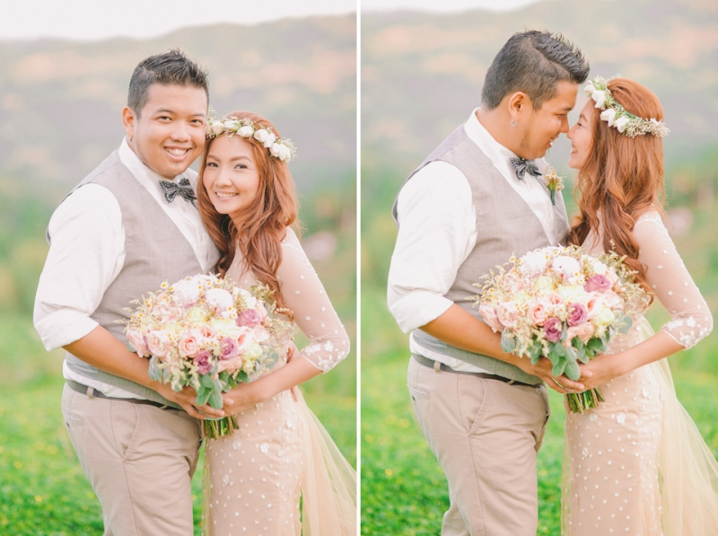 Cuckoo Cloud Concepts Jayson and Charm Secret Wedding Rancho Cancio Cebu Wedding Stylist Bohemian Elegance Event Styling Lush Bouquet Intimate -45