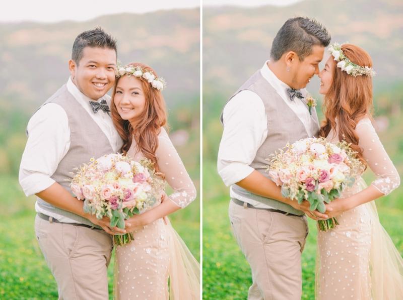 Cuckoo Cloud Concepts Jayson and Charm Secret Wedding Rancho Cancio Cebu Wedding Stylist Bohemian Elegance Event Styling Lush Bouquet Intimate -45