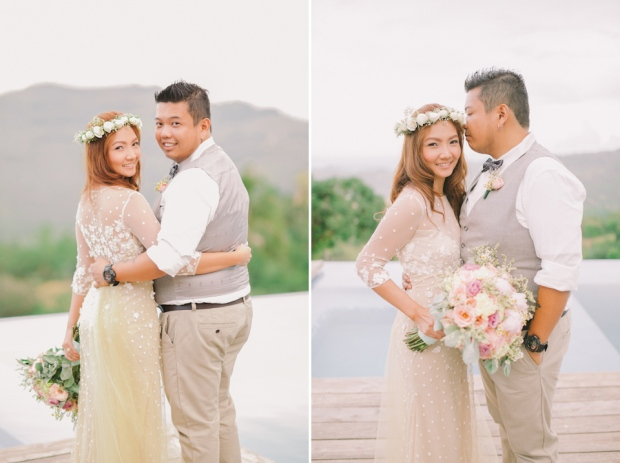 Cuckoo Cloud Concepts Jayson and Charm Secret Wedding Rancho Cancio Cebu Wedding Stylist Bohemian Elegance Event Styling Lush Bouquet Intimate -46